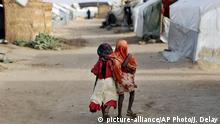 Tschad N'djamena Kinder im Zafaye refugee camp