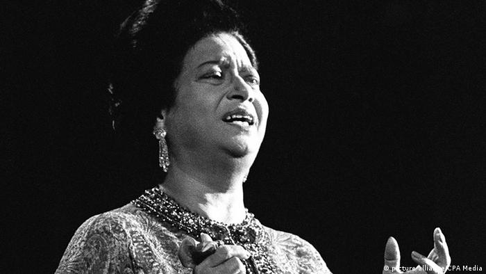 Umm Kulthum (Copyright: picture alliance/CPA Media)