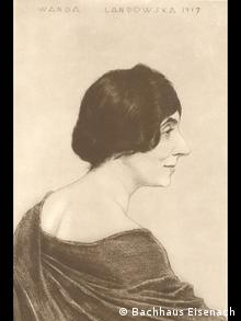 Wanda Landowska in 1917. Photo: Bachhaus Eisenach