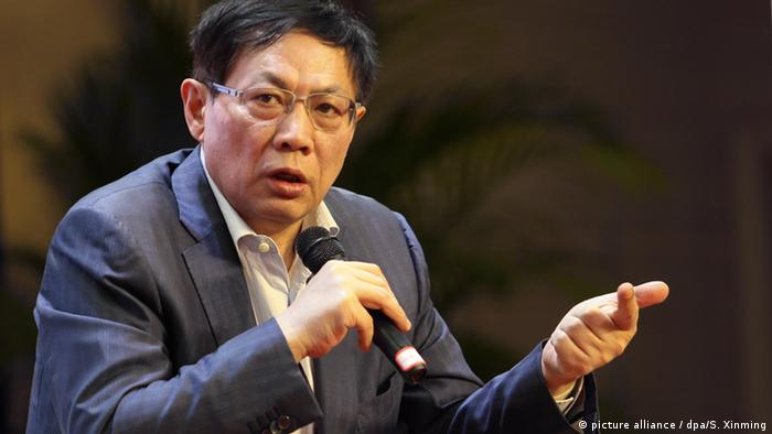 Former Chinese property mogul Ren Zhiqiang (picture alliance / dpa/S. Xinming)