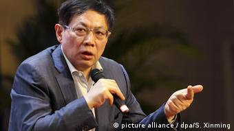 China Hubei Ren Zhiqiang ehemaliger Vorsitzender von Huayuan Property (picture alliance / dpa/S. Xinming)
