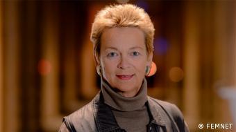 Dr. Gisela Burckhardt von der Organisation FEMNET