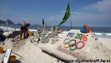 Brasilien Rio de Janeiro Olympische Spiele 2016