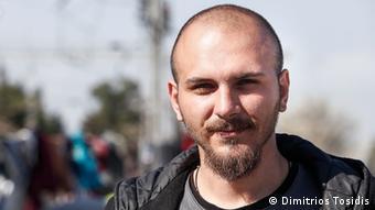 Mazedonien Grenze Griechenland Sami Kurde Syrien