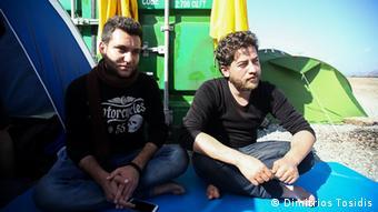 Mazedonien Grenze Griechenland Baidar Ahmed Syrien