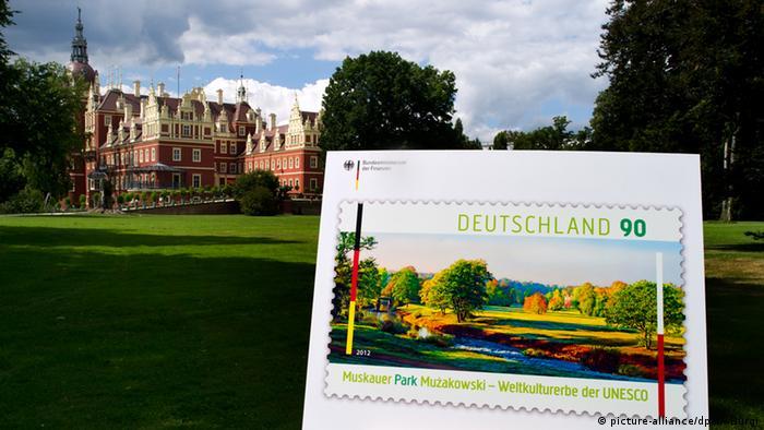 Prince Pückler postal stamp
