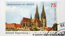 Briefmarke Dom von Regensburg