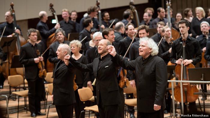 Berlin Philharmonic musicians