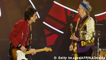 Getty Images/AFP/N.Almeida British rock band The Rolling Stones performs in concert during their Ole tour at Morumbi stadium in Sao Paulo, Brazil, on February 24, 2016. AFP PHOTO / NELSON ALMEIDA / AFP / NELSON ALMEIDA (Photo credit should read NELSON ALMEIDA/AFP/Getty Images)