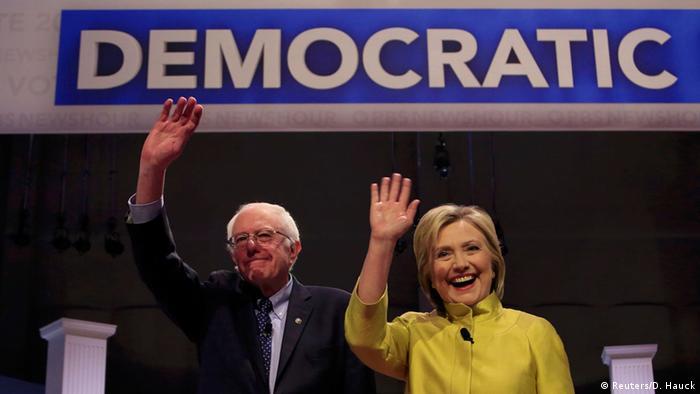 USA Vorwahlen Demokraten Bernie Sanders Hillary Clinton