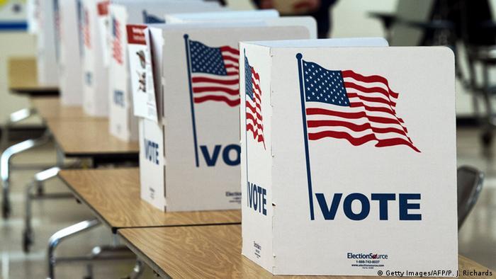 урны для голосования в США