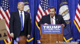 USA Vorwahlen Super Tuesday Trump Christie (Reuters/C. Bergin)