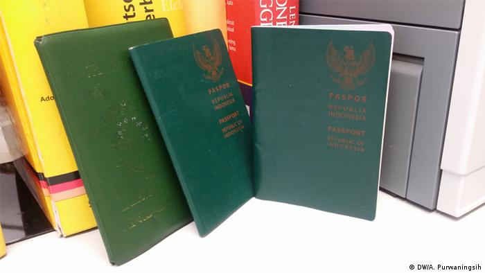Symbolbild Indonesischer Passport