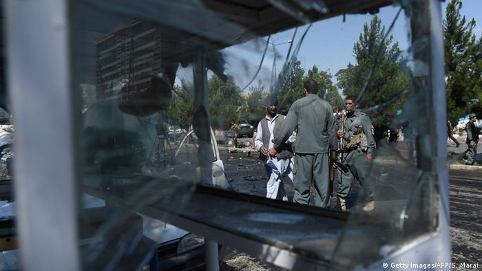Symbolbild Terrorismus Afghanistan (Getty Images/AFP/S. Marai)