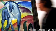 Blaues Pferde malte der Expressionist Franz Marc - jetzt zu sehen in der Kunsthalle Emden