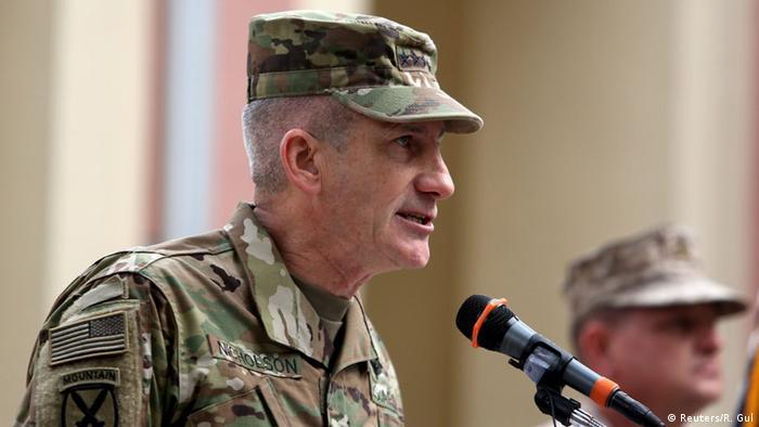 Afghanistan neuer Nato-Oberbefehlshaber General John Nicholson