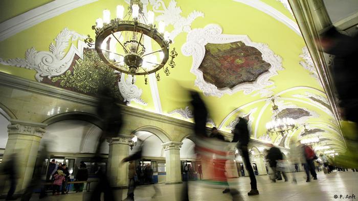 Komsomolskaya station Copyright: P. Anft