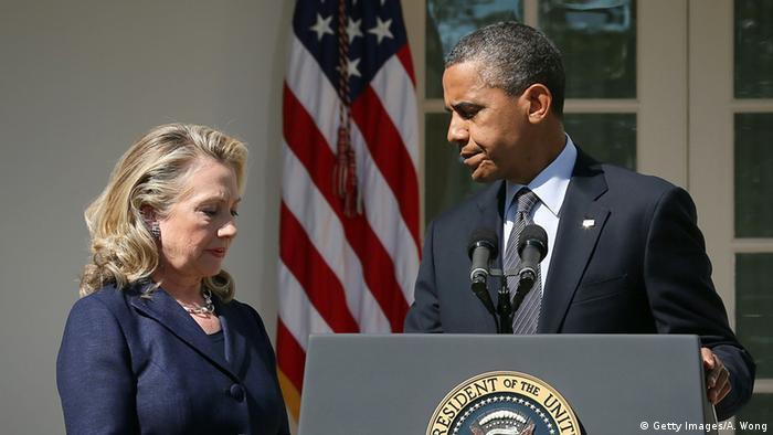 Гілларі Клінтон та Барак Обама