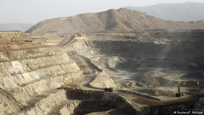 Eritrea Bisha Mine bei Asmara