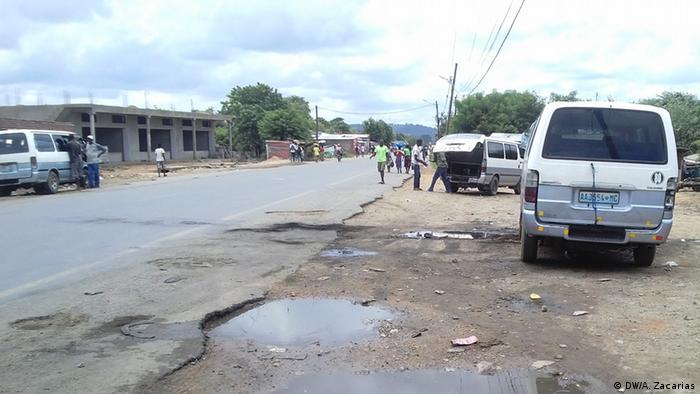 Mosambik Flüchtlinge in Moatize