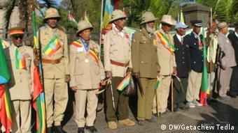 Äthiopien Addis Abeba Gedenken Adwa Mitglieder der Veteranen-Vereinigung