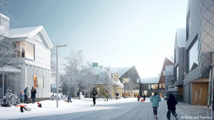 Building project in Kiruna.