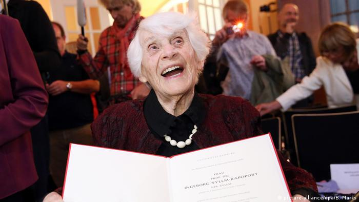 102-летняя Ингеборг Силм-Рапопорт