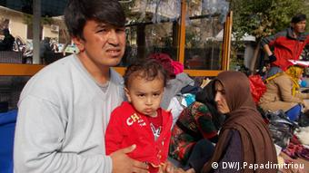 Afghanische Flüchtlinge in Athen Griechenland Piräus