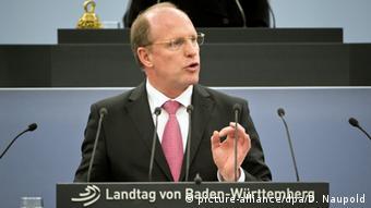 Deutschland Baden-Württemberg Landtagspräsident Wilfried Klenk