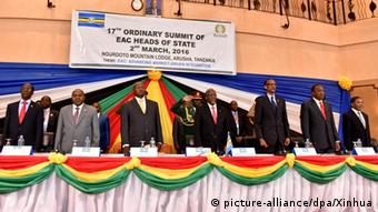 East African Community Gipfel Tansania Arusha (picture-alliance/dpa/Xinhua)