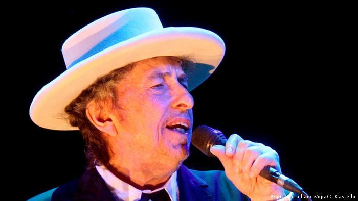 Боб Ділан, США, лауреат Нобелівської премії з літератури