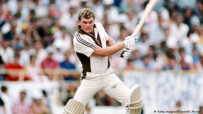 Neuseeland Martin Crowe Cricket (Getty Images/Allsport/A. Murrell)