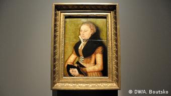 Painting by Lucas Cranach, the Elder in the Pushkin Museum in Moscow, Copyright: DW/A. Boutsko