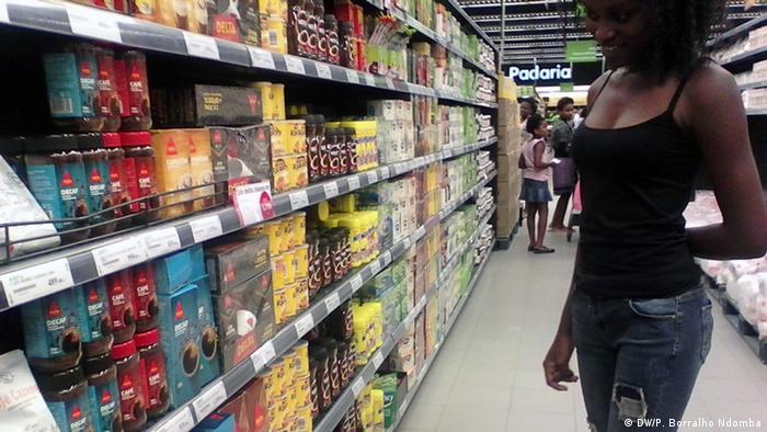 Angola Lebensmittel in Luanda
