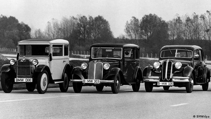 Довоенные модели BMW - Dixi, 303 и 326