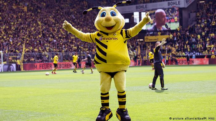 Emma, mascote do Dortmund