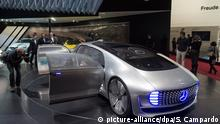 01.03.2016++++++++++epa05189121 The Mercedes Concept Car is presented during the press day at the 86th Geneva International Motor Show in Geneva, Switzerland, 01 March 2016. The 86th Geneva international motor show will be open from 03 to 13 March 2016. EPA/SANDRO CAMPARDO +++(c) dpa - Bildfunk+++ (c) picture-alliance/dpa/S. Campardo