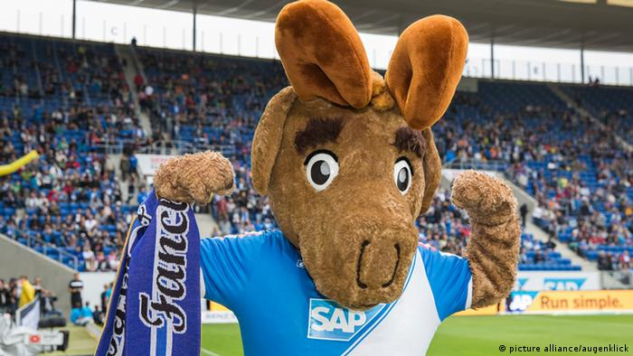 Mascote Hoffi, do Hoffenheim