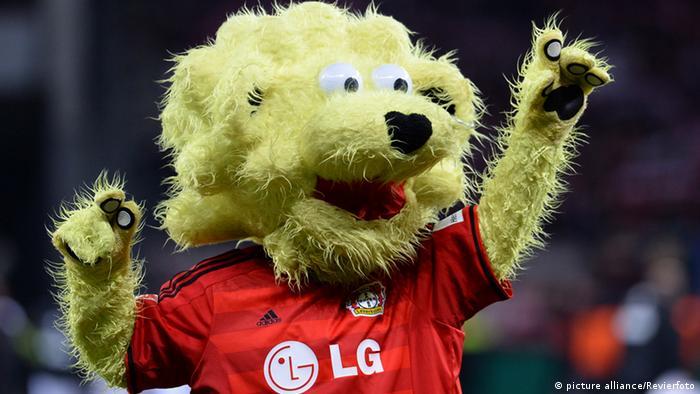O leão Brian, do Leverkusen