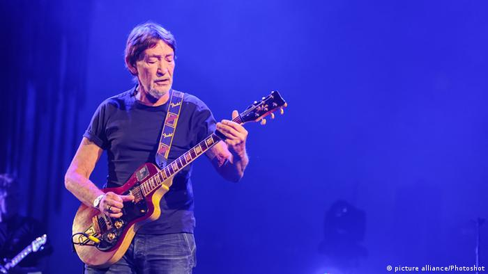 Chris Rea at a concert in London