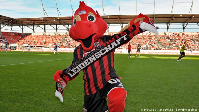 O dragão Schanzi, do Ingolstadt
