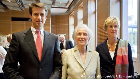 Deutschland BMW Hauptaktionäre Johanna Quandt Stefan Quandt und Susanne Klatten