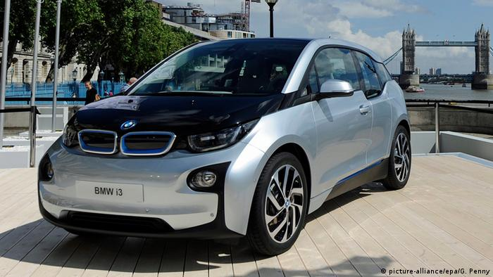 BMW i3 (Photo: EPA/GERRY PENNY)