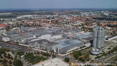 Deutschland BMW Hauptsitz in München