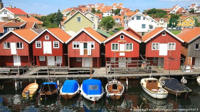 Schweden Hafen in Smogen (picture alliance/Bildagentur-online/Algol/AGF-F)