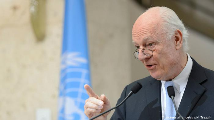 Staffan de Mistura, UN-Sonderbeauftragter des Generalsekretärs für Syrien