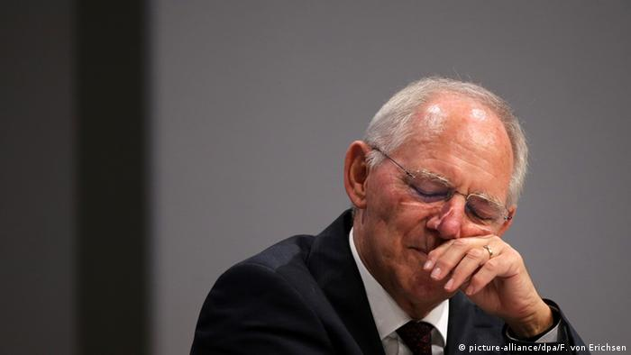 Schäuble said a Brexit would mean a less stable EU