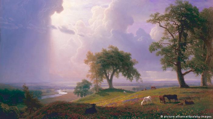 Весна в Калифорнии, Альберт Бирштадт, 1875