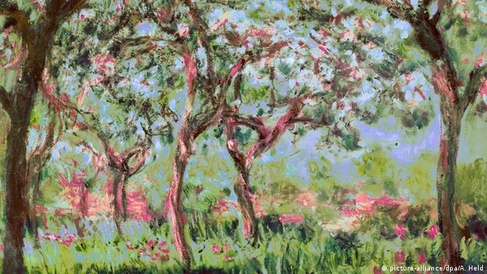 Весна в Живерни, Клод Моне, 1900