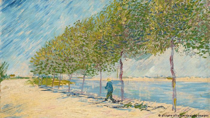 Прогулка вдоль берегов Сены близ Аньера, Винсент Ван Гог, 1887